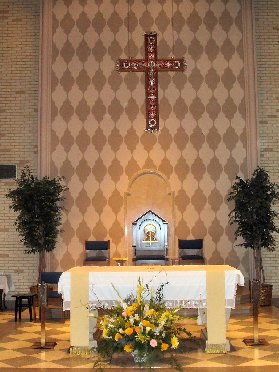 Inside The Cathedral of The Sacred Heart (Pensacola, FL)